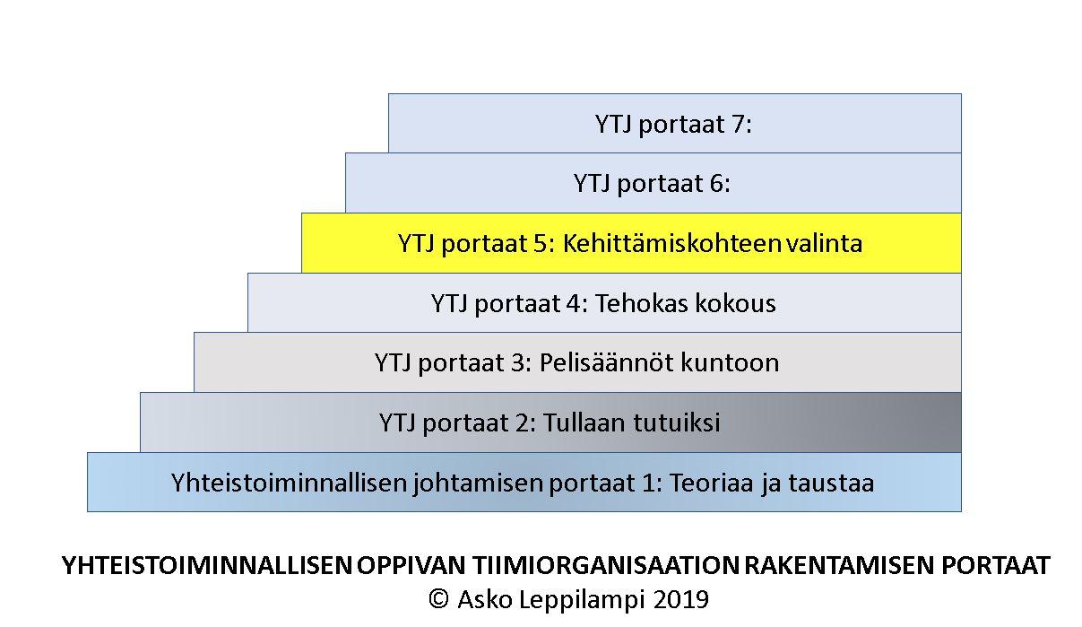 Organisaation kehittämiskohteiden valinta – esimerkki koulusta